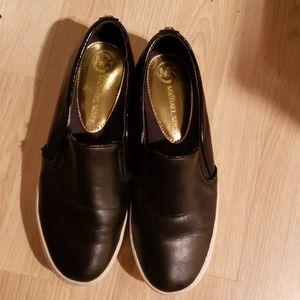 Michael Kors Black Slide On Shoes